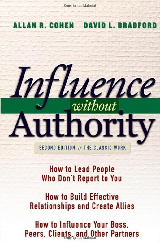 Image of: Influence without Authority