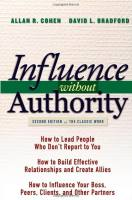 Influence without Authority book summary