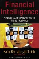Financial Intelligence book summary