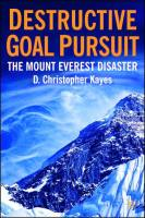 Destructive Goal Pursuit book summary