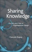 Sharing Knowledge book summary