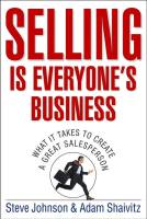 Selling is Everyone's Business book summary