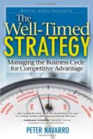 The Well-Timed Strategy book summary