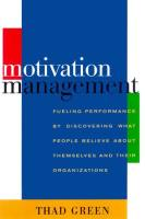 Motivation Management book summary