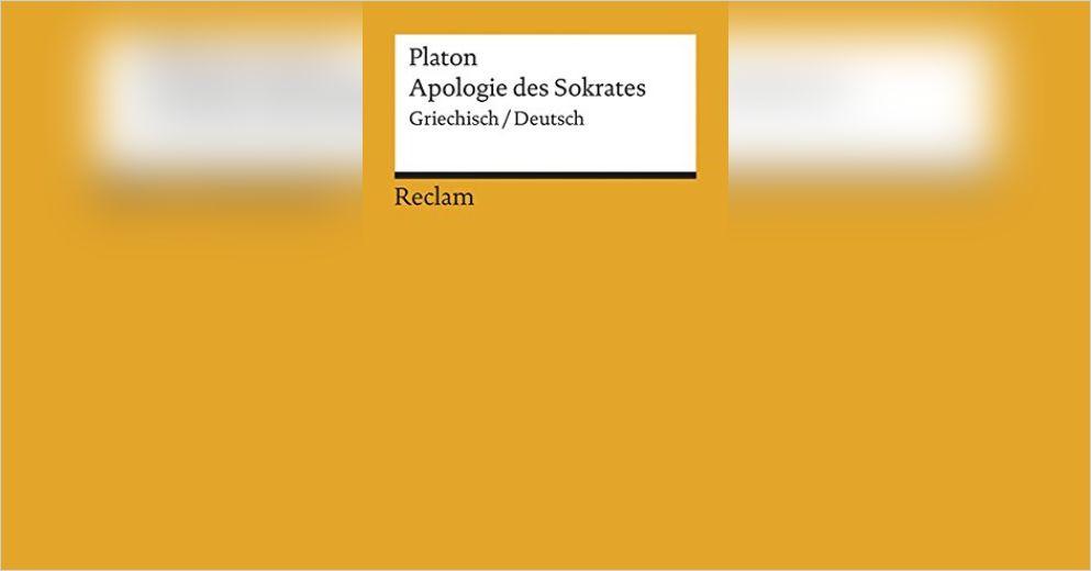 Apologie Des Sokrates Von Platon Gratis Zusammenfassung