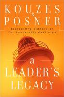 A Leader's Legacy book summary