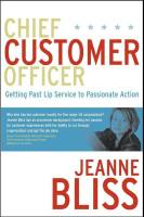 Chief Customer Officer book summary