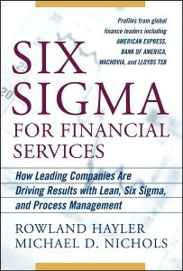 Six Sigma for Financial Services book summary