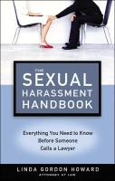 The Sexual Harassment Handbook book summary