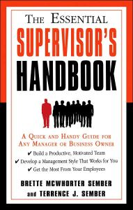 The Essential Supervisor`s Handbook book summary