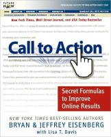 Call to Action book summary