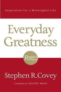 Everyday Greatness book summary