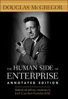 The Human Side of Enterprise book summary