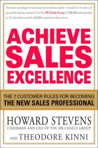 Achieve Sales Excellence book summary
