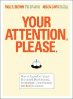 Your Attention, Please. book summary