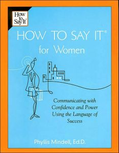 How to Say It For Women book summary