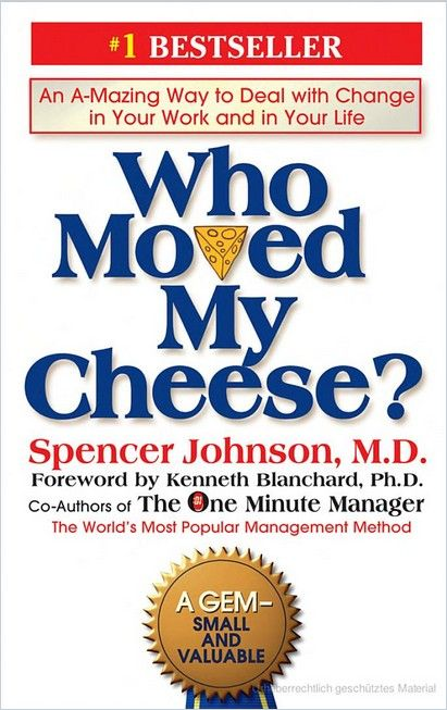 Image of: Who Moved My Cheese?