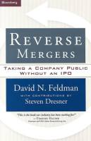 Reverse Mergers book summary