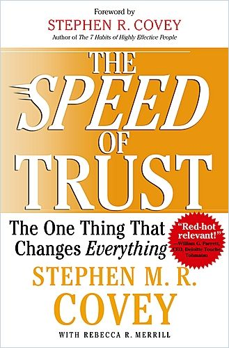 Image of: The Speed of Trust
