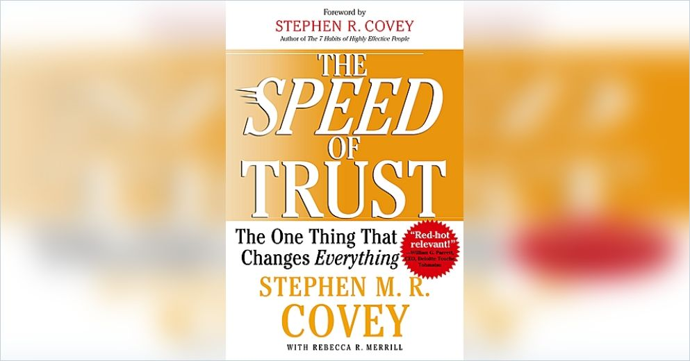 the speed of trust The speed of trust: the one thing that changes everything ebook: stephen mr covey, rebecca r merrill, stephen r covey, rebecca r.
