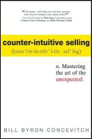 Counter-Intuitive Selling book summary
