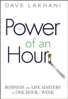 The Power of an Hour book summary