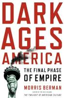 Dark Ages America book summary