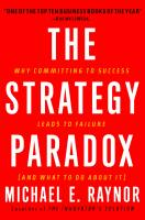 The Strategy Paradox book summary