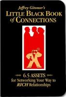 Jeffrey Gitomer's Little Black Book of Connections book summary