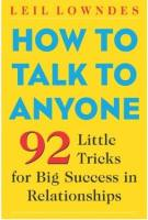 How to Talk to Anyone book summary