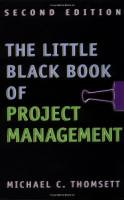 The Little Black Book of Project Management book summary