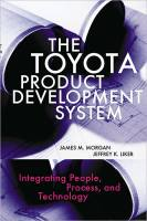 The Toyota Product Development System book summary