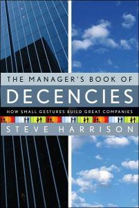 The Manager's Book of Decencies book summary