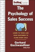 The Psychology of Sales Success book summary