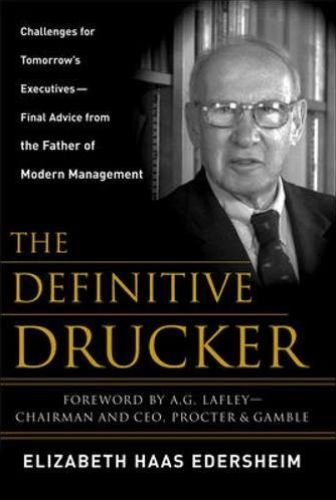 Image of: The Definitive Drucker
