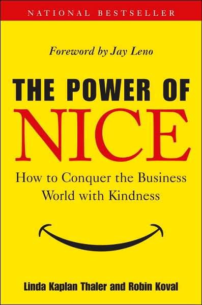 Image of: The Power of Nice