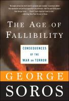 The Age of Fallibility book summary