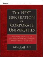 The Next Generation of Corporate Universities book summary