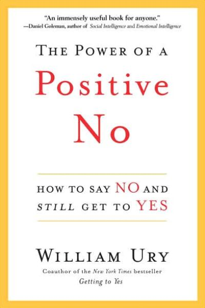Image of: The Power of a Positive No