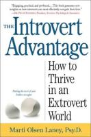 The Introvert Advantage book summary