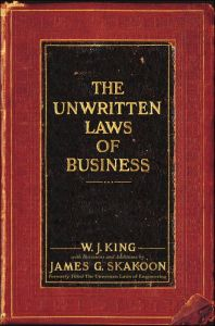 The Unwritten Laws of Business book summary