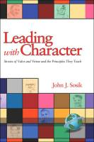 Leading with Character book summary