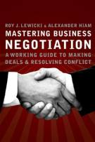 Mastering Business Negotiation book summary