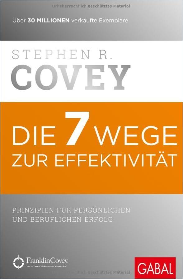 Image of: Die 7 Wege zur Effektivität