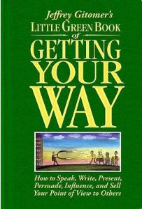 Little Green Book of Getting Your Way book summary