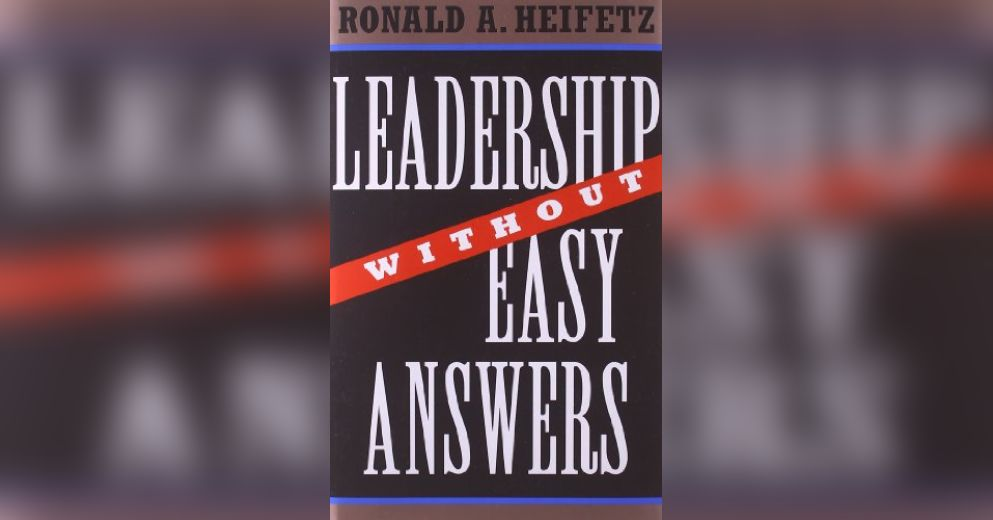 leadership without easy answers Leadership without easy answers has 658 ratings and 47 reviews ac said:  quite fascinating -- intelligent, with many applicable insights, this is not a b.