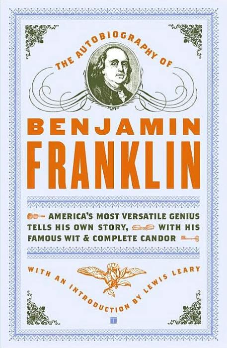Image of: The Autobiography of Benjamin Franklin