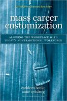 Mass Career Customization book summary
