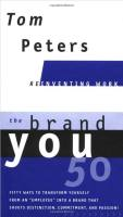 The Brand You 50 book summary