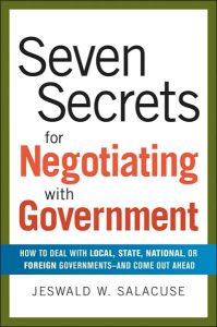 Seven Secrets for Negotiating with Government book summary